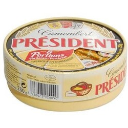 Prèsident - Camembert L`Original, 8 Portionsecken