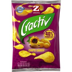 Zweifel Cractiv Chips Curry Oriental