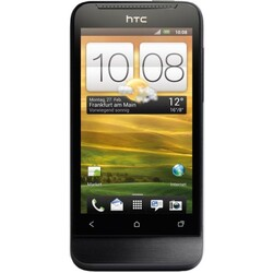 HTC One V Black Obsidian Android Gradient Metal