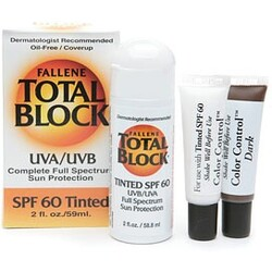 Fallene Total Block Tinted Cover-UP, SPF 60