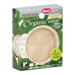 Physician's Formula Organic Wear 100% Natural Origin Pressed Powder 2136 Translucent Medium