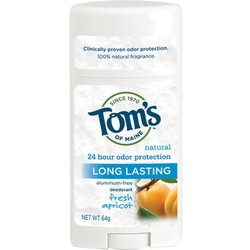 Tom's of Maine Long Lasting Deodorant, Fresh Apricot