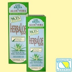 Pure Aloe Vera Gel 100 % natural (Herbaloe 5110)