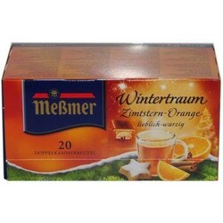 Meßmer Wintertraum Zimtstern-Orange