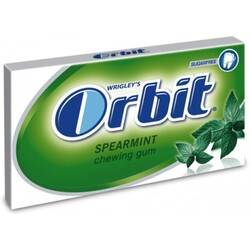Wrigley's Orbit Spearmint sugarfree