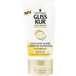 Gliss Kur 2-Minuten-Intensivkur Gold Shine Blonde