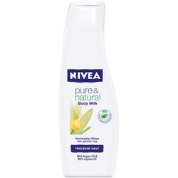 Nivea - Pure & Natural Body Milk Mini