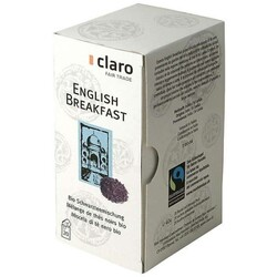 Black Tea English Breakfast BIO 20x2g