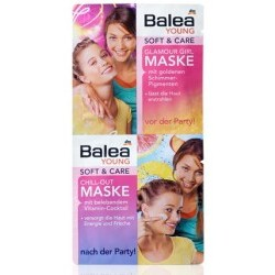Balea Young Soft & Care Glamour Girl Maske & Chill-Out Maske