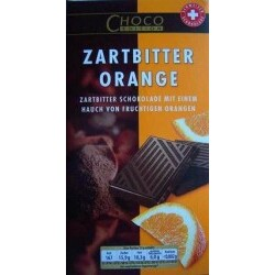 CHOCO EDITION Zartbitter Orange