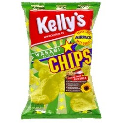 Kelly's - Chips Wasabi