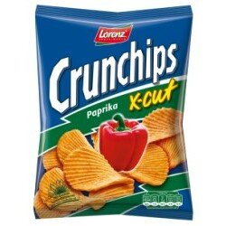 Lorenz - Crunchips Paprika X-Cut