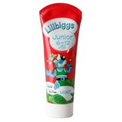 Lillibiggs Zahnpasta Junior Mint