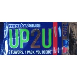 mentos GUM Uo 2 You Fresh Mint / Berry Watermelon