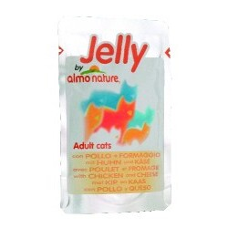 Jelly by Almo Nature - Adult Cats Huhn & Käse