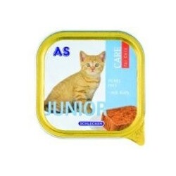 AS - Care for Cats Feines Paté Junior mit Kalb