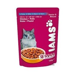 Iams - Senior & Mature Huhn in Sauce
