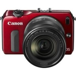 Canon EOS M Kit EF-M 18-55mm rot