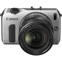 Canon EOS M Kit EF-M 18-55mm silber