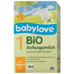 Babylove - Bio Anfangsmilch 1