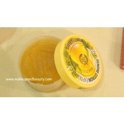 Body Shop - Sweet Lemon Body Scrub