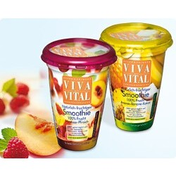 Viva Vital - Smoothie Himbeer-Pfirsich