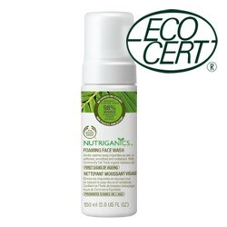 Body Shop - Nutriganics™ Foaming Facial Wash