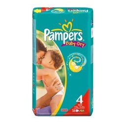 Pampers - Baby-Dry Maxi 7-18kg