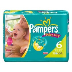 Pampers - Baby-Dry Extra Large 16-30 kg