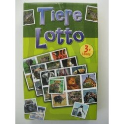 Bookmark - Tiere Lotto