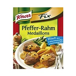 Knorr Fix - Pfeffer-Rahm Medaillons