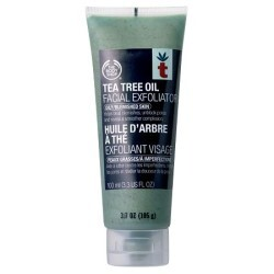 Body Shop - Tea Tree Oil Facial Exfoliator