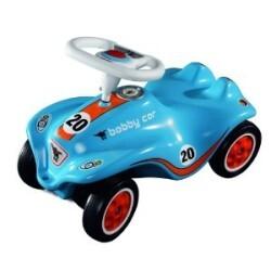 big bobby car racing no1 blau 4004943561839. Black Bedroom Furniture Sets. Home Design Ideas