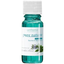 oriflame pure nature organic tea tree & rosemary purifying oil