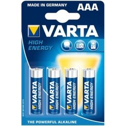 Varta 4903 High Energy, AAA, Batterie, 4Pack