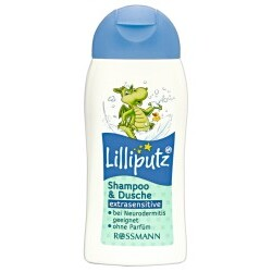 Lilliputz extrasensitive Shampoo & Dusche