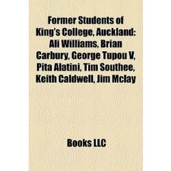 Former Students of King's College, Auckland: Ali Williams, Brian Carbury, George Tupou V, Pita Alatini, Tim Southee, Keith Caldwell, Jim McLay