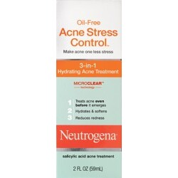 Oil-Free Acne Stress Control® 3-in-1 Hydrating Acne Treatment