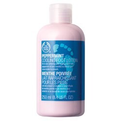 Body Shop - Peppermint Cooling Footlotion