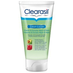 Clearasil Daily Clear - Peeling Vitamin & Extrakte Wash & Mask