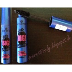 essence get big lashes waterproof mascara