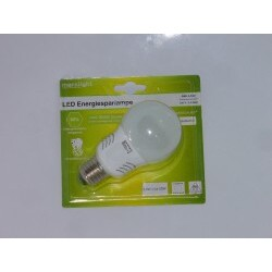 Marslight - LED Energiesparlampe G60 3,4 W E27