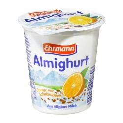 Ehrmann Almighurt - Orange mit Schokoraspeln