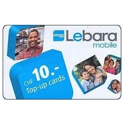Top-up Cards 10.- CHF