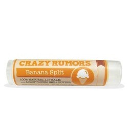 Crazy Rumors Banana Split Lip Balm