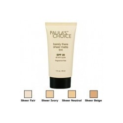 Paula's Choice Barely There Sheer Matte Tint SPF 20