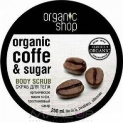 Organic Shop - Organic Coffee & Sugar Body Scrub
