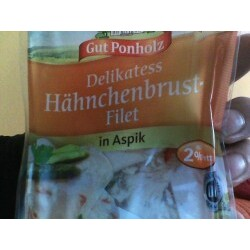 Gut Ponholz Delikatess Hähnchenbrust Filet in Aspik