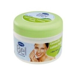 Bel Cosmetic Lotion Pads mit Aloe Vera