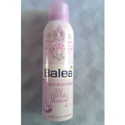 Balea Deo-Bodyspray White Diamond